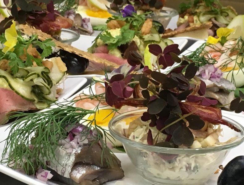 Traditional Danish Lunch>