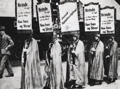 aktivister_fra_dansk_kvindesamfund_1918