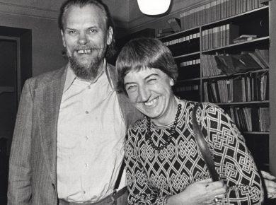 Gert Petersen og Ebba Strange