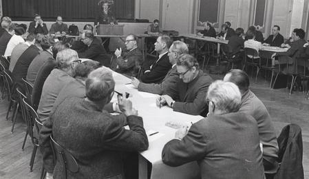 Centralkomitemøde 19. december 1967.