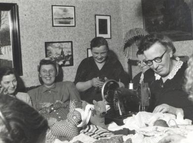 dkp-kvinder-basar-frhavn-jan-1950