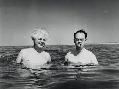 Viggo Kampmann og Julius Bomholt