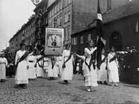Grundlovsoptoget til Kongen 1915