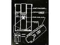 Tegning fra den nu forsvundne illegale bombemanual fra besættelsen
