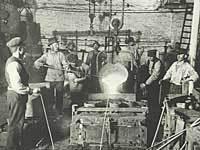 Smedeværksted i 1890'erne
