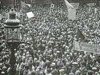 Arbejderne kræver i 1946 krigens lønefterslæb indhentet