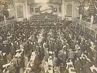 På Socialistkongressen i 1910 i København er spørgsmålet om kooperationen et vigtigt emne.