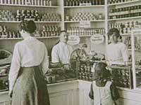 HB-butik i København ca. 1910