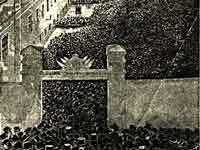 Samtidig tegning af valghandlingen 1884