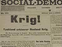 Social-demokraten, 2 august