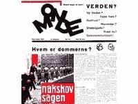 Tidsskriftet Mondes forside fra 1931.