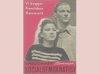 Socialdemokratisk valgplakat fra 1947.