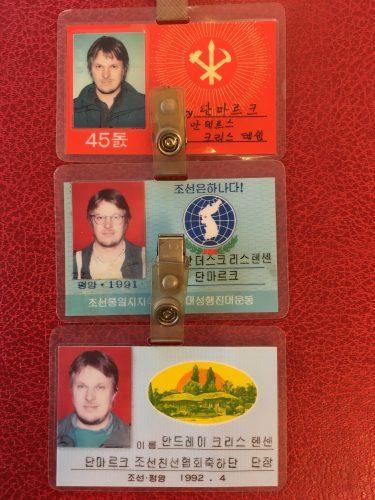 Anders Kristensen, formand siden 1982, har været på mange delegationsrejser til Nordkorea