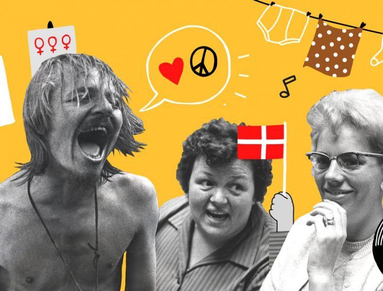 Kulturnat: Peace, love & dansktop >