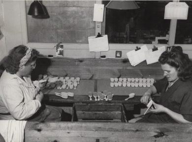 Børstemagere 1943 – Ukendt fotograf.
