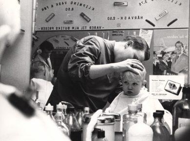 Frisør 1967 – Ukendt fotograf