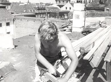 Tømrer, 1980 – Foto: Finn Svensson