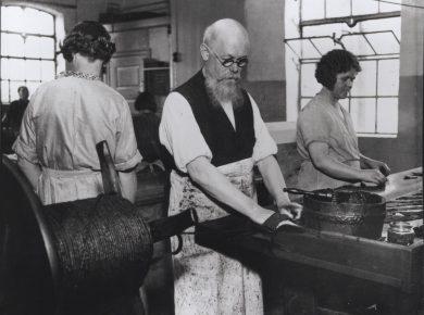 Tobaksproduktion, 1920'erne – Ukendt fotograf