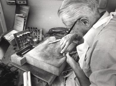 Cigarmager 1982 – Foto: Harry Nielsen