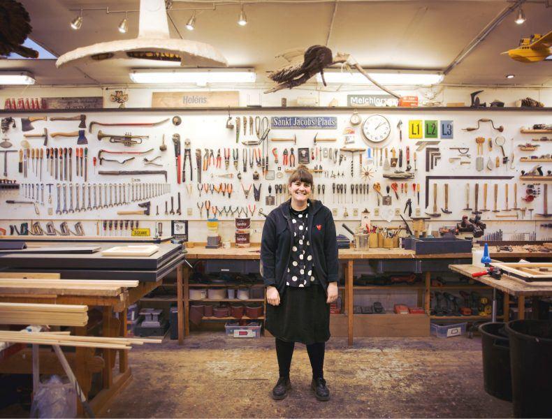 Mød en håndværker: Møbelsnedker Andrea Stokholm >