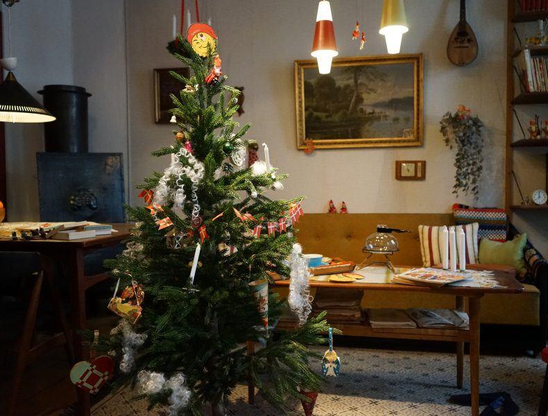 Gratis juleomvisning i 1950'erne >
