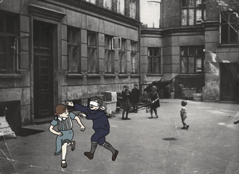 Barn i gamle dage