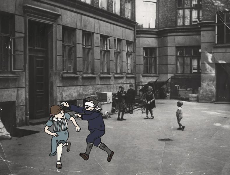 Barn i gamle dage>