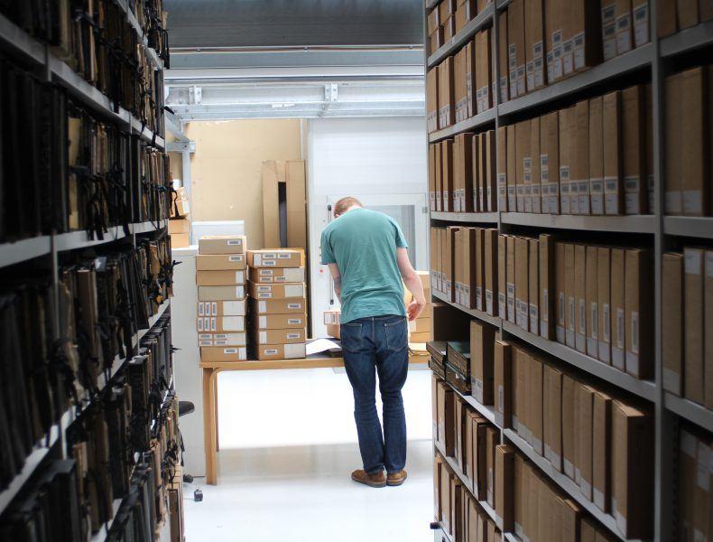 De mange arkiver >