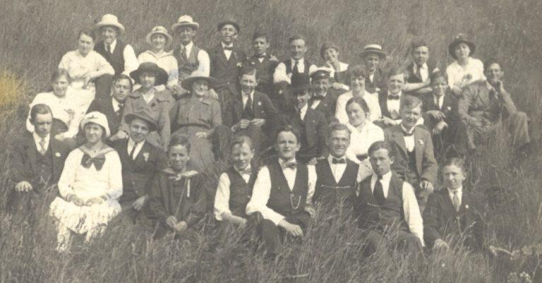 Søndagsudflugt i 1925.