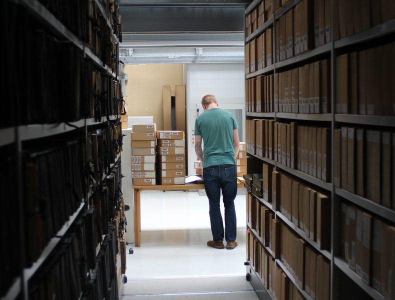 Bibliotek og arkiv>