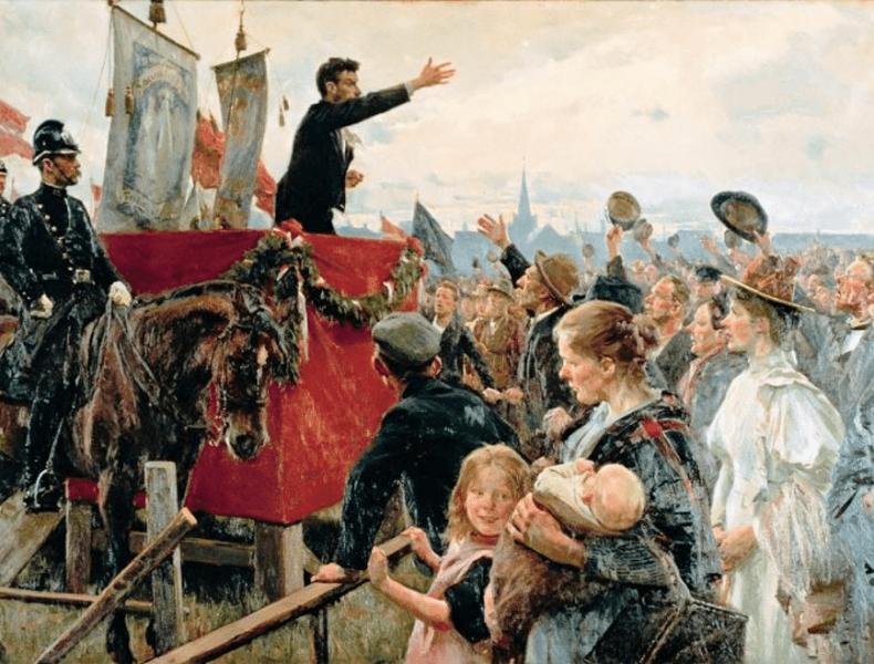 Byvandring: Slaget på Fælleden >