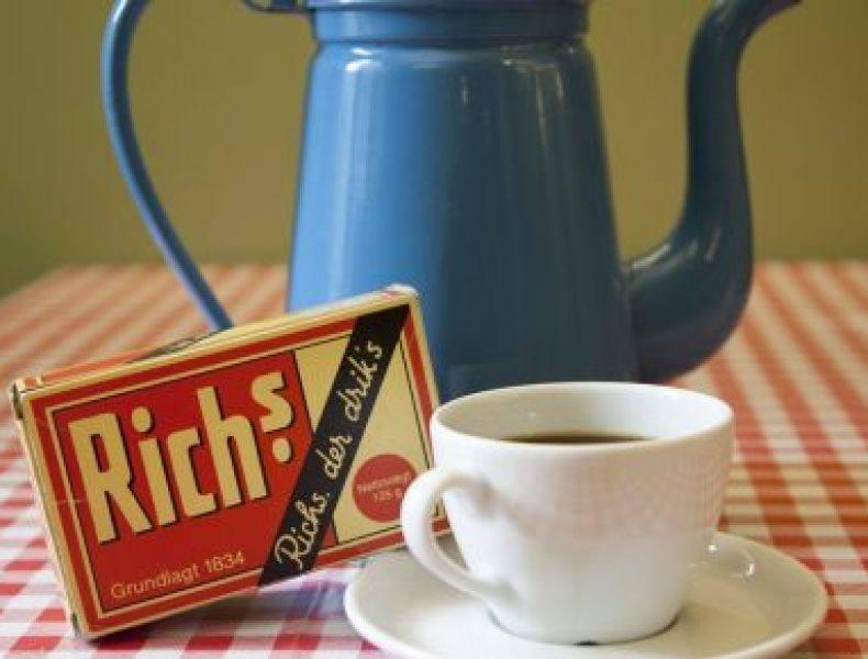 Med eller uden Rich's?>